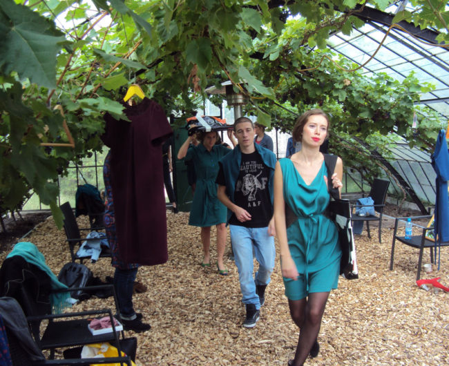 green-fair-modeshow 2012 frisgroen